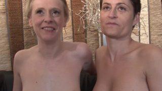 Sexe à voile, à vapeur avec femme blonde mature bien conservée!